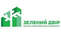 Логотип строительной компании Зеленый двор