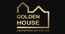 Логотип будівельної компанії ЖБК Golden House