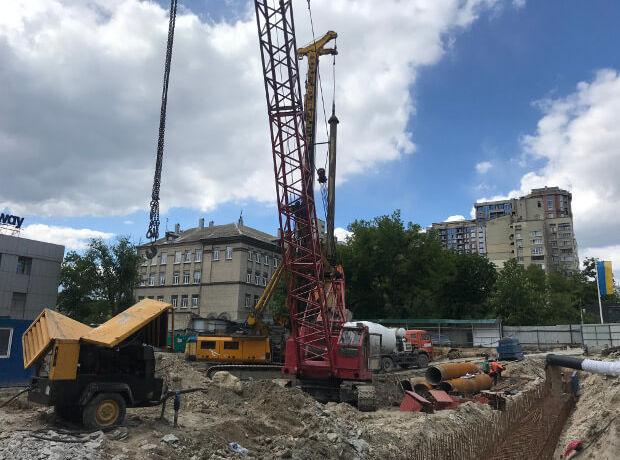 ЖК A136 highlight tower ход строительства фото 173454