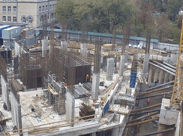 ЖК A136 highlight tower ход строительства фото 201508