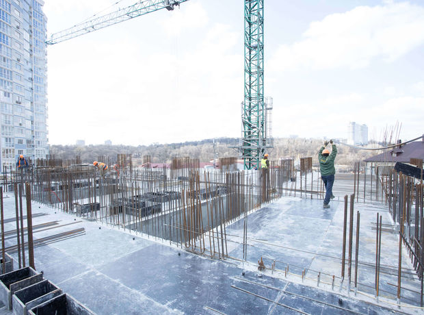 ЖК A136 highlight tower ход строительства фото 242619