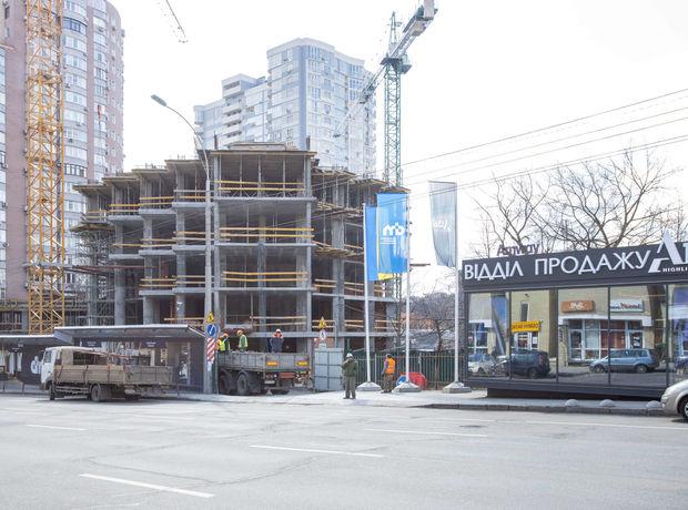 ЖК A136 highlight tower ход строительства фото 242623