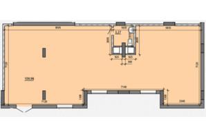 ЖК Америка: планировка помощения 113.25 м²