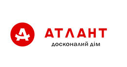 Логотип будівельної компанії ЖК Атлант