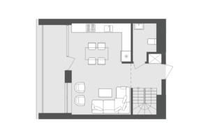 ЖК Avalon Up: планування 2-кімнатної квартири 84.09 м²