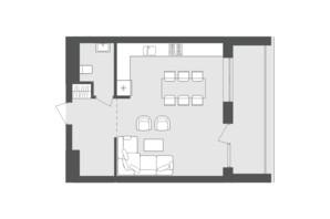ЖК Avalon Up: планування 2-кімнатної квартири 92.15 м²