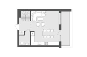 ЖК Avalon Up: планування 2-кімнатної квартири 91.25 м²