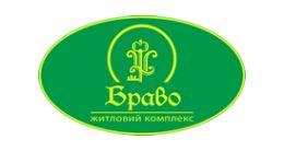 Логотип будівельної компанії ЖК Браво