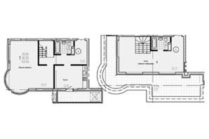 ЖК Брюссель: планировка 3-комнатной квартиры 105.68 м²