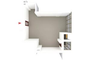 ЖК Будинок в Сокольниках: планування 1-кімнатної квартири 60.19 м²