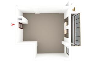 ЖК Будинок в Сокольниках: планування 1-кімнатної квартири 64.58 м²