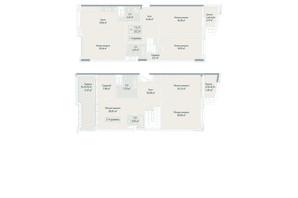 ЖК Бульвар фонтанов: планировка 3-комнатной квартиры 202.59 м²