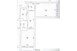 ЖК Чайка: планировка 1-комнатной квартиры 149 м²