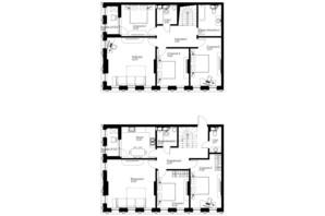 ЖК Chicago Central House: планировка 6-комнатной квартиры 193.8 м²