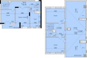 ЖК Comfort Hall: планування 4-кімнатної квартири 164.3 м²