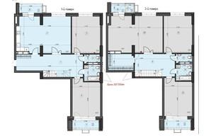 ЖК Crystal Residence: планировка 5-комнатной квартиры 243.23 м²