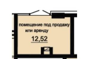 ЖК DeLight Hall: планування приміщення 12.52 м²