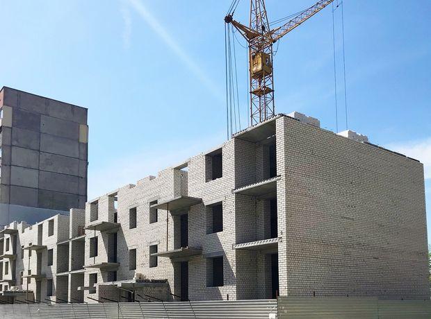 ЖК Дом на Лазурной хід будівництва фото 66391