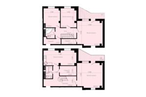 ЖК Дом на Зерновой: планировка 4-комнатной квартиры 165.11 м²