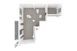 ЖК Дом в Сокольниках: планировка 3-комнатной квартиры 135 м²