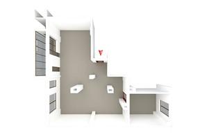 ЖК Дом в Сокольниках: планировка 3-комнатной квартиры 137 м²