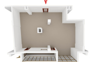 ЖК Дом в Сокольниках: планировка 2-комнатной квартиры 96.8 м²