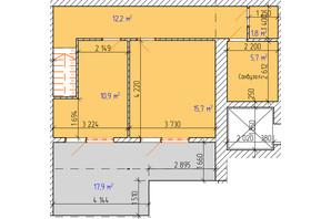 ЖК «Dream Park»: планування 3-кімнатної квартири 88.2 м²