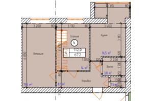 ЖК «Dream Park»: планування 4-кімнатної квартири 112.9 м²