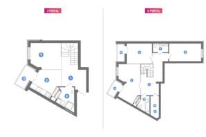 ЖК Family & Friends: планування 4-кімнатної квартири 123.2 м²