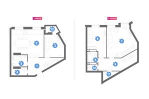 ЖК Family & Friends: планування 3-кімнатної квартири 127.99 м²