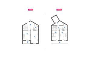 ЖК Family & Friends: планування 3-кімнатної квартири 106.54 м²