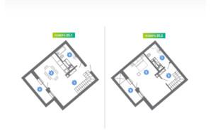 ЖК Family & Friends: планування 3-кімнатної квартири 71.05 м²