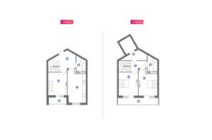 ЖК Family & Friends: планування 1-кімнатної квартири 106.54 м²
