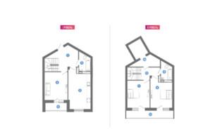 ЖК Family & Friends: планування 1-кімнатної квартири 106.64 м²