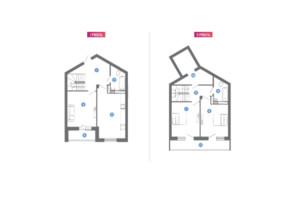 ЖК Family & Friends: планування 2-кімнатної квартири 106.64 м²