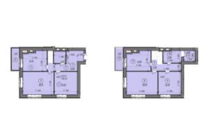 ЖК Французский Бульвар: планировка 4-комнатной квартиры 118.26 м²