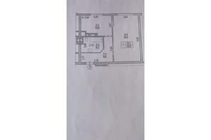 ЖК Garant City: планування 1-кімнатної квартири 49.77 м²