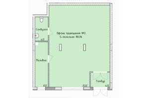 ЖК Globus Elite: планировка помощения 87 м²