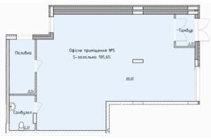 ЖК Globus Elite: планировка помощения 102.2 м²