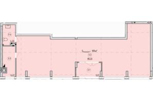ЖК Globus Park: планировка помощения 105 м²