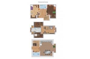 ЖК Гостинний дім: планировка 5-комнатной квартиры 173.6 м²