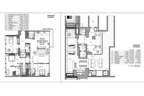 ЖК Graf: планировка 4-комнатной квартиры 268 м²
