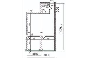 ЖК Grand Family Apartment: планування 2-кімнатної квартири 49 м²