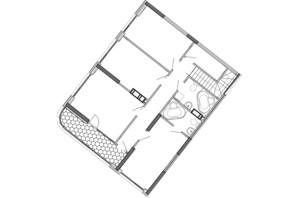 ЖК Great: планування 6-кімнатної квартири 186.5 м²