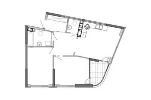 ЖК Great: планування 2-кімнатної квартири 78.25 м²