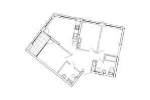 ЖК Great: планування 3-кімнатної квартири 80.48 м²