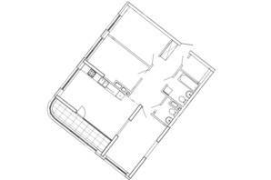 ЖК Great: планування 3-кімнатної квартири 95.55 м²