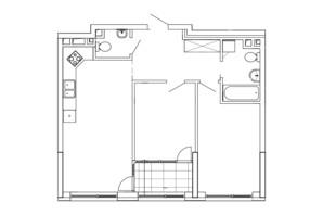 ЖК Great: планування 2-кімнатної квартири 69.92 м²