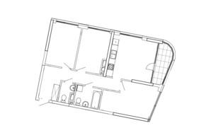 ЖК Great: планування 3-кімнатної квартири 88.53 м²