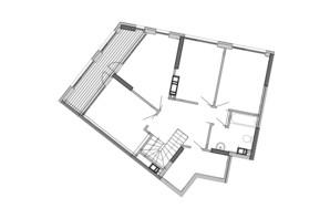 ЖК Great: планування 6-кімнатної квартири 168.56 м²